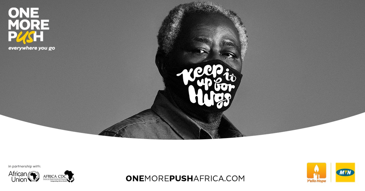 """Africa CDC and MTN accelerate fight against COVID-19 with """"OneMorePush"""" campaign"""